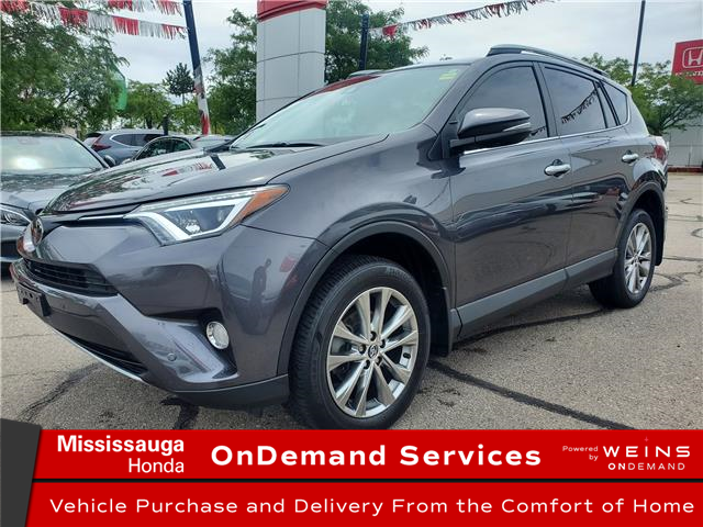 2017 Toyota RAV4 Limited (Stk: CP0434) in Mississauga - Image 1 of 22