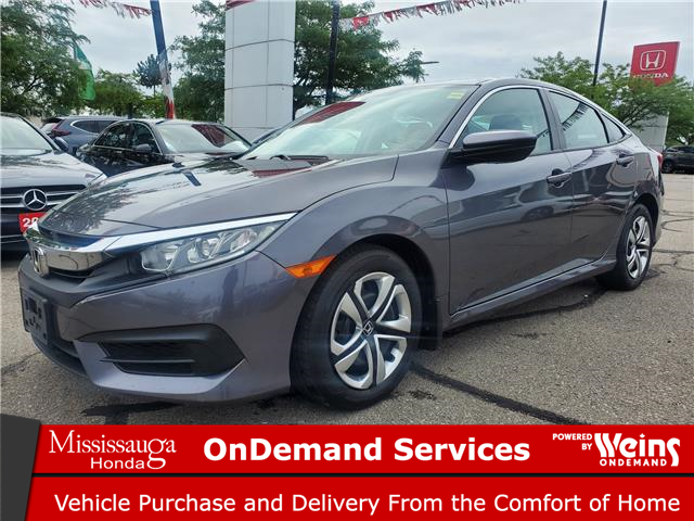 2018 Honda Civic LX (Stk: 329249A) in Mississauga - Image 1 of 20