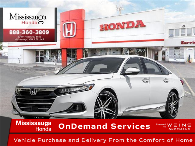 2021 Honda Accord Touring 1.5T (Stk: 329514) in Mississauga - Image 1 of 22