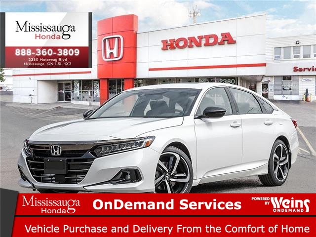 2021 Honda Accord Sport 1.5T (Stk: 329568) in Mississauga - Image 1 of 23