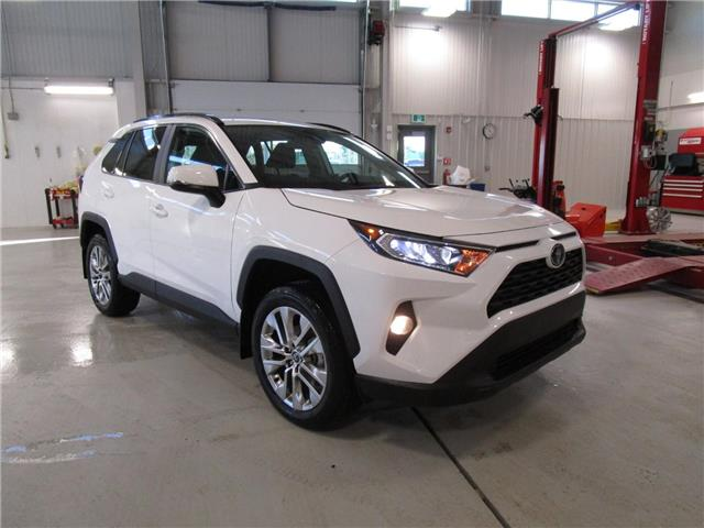 2021 Toyota RAV4 XLE (Stk: 219016) in Moose Jaw - Image 1 of 34