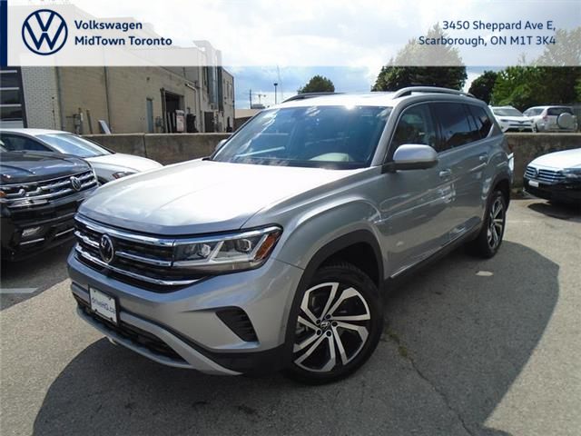 2021 Volkswagen Atlas 3.6 FSI Execline (Stk: W1702) in Toronto - Image 1 of 21