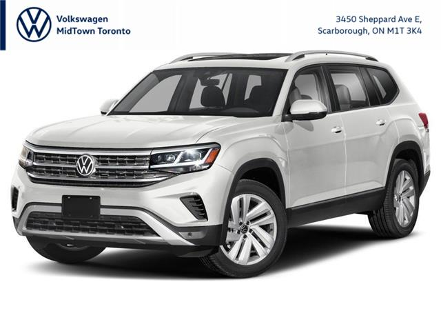 2021 Volkswagen Atlas 3.6 FSI Highline (Stk: W1786) in Toronto - Image 1 of 9