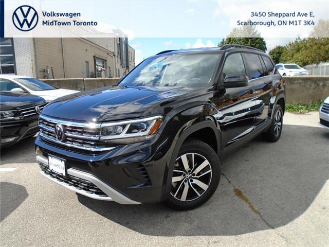 2021 Volkswagen Atlas 2.0 TSI Comfortline (Stk: W1865) in Toronto - Image 1 of 21