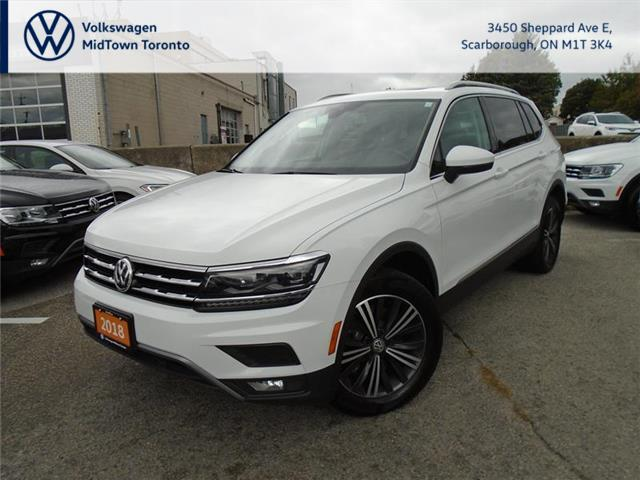 2018 Volkswagen Tiguan Highline (Stk: P7579) in Toronto - Image 1 of 21