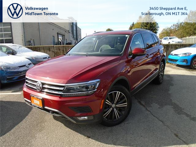 2018 Volkswagen Tiguan Highline (Stk: W1761A) in Toronto - Image 1 of 21