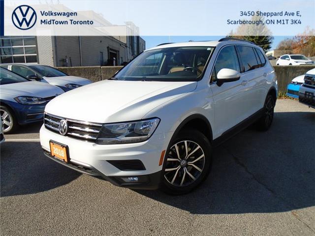 2018 Volkswagen Tiguan Comfortline (Stk: W1597A) in Toronto - Image 1 of 19