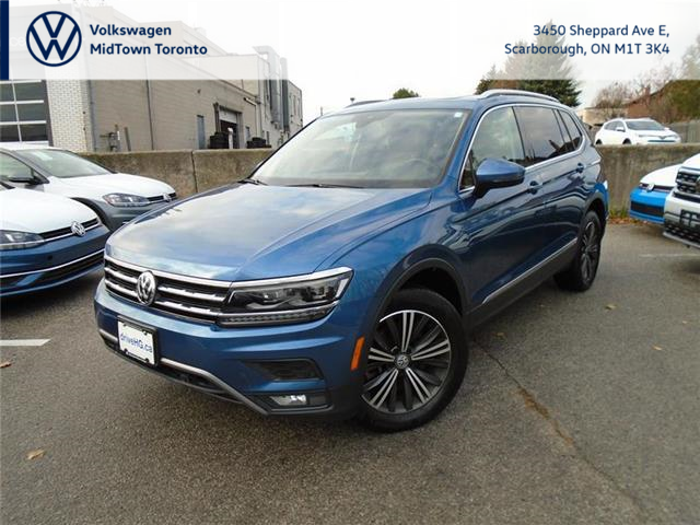 2018 Volkswagen Tiguan Highline (Stk: P7594) in Toronto - Image 1 of 21