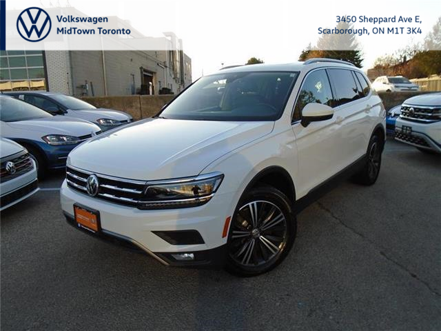 2018 Volkswagen Tiguan Highline (Stk: W1993A) in Toronto - Image 1 of 21