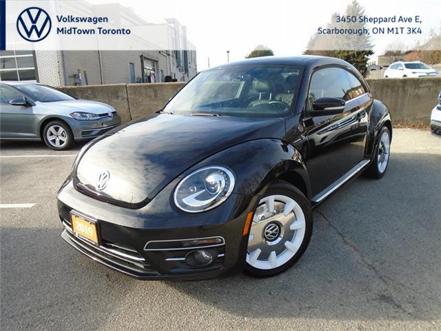 2019 Volkswagen Beetle Wolfsburg Edition (Stk: W2001A) in Toronto - Image 1 of 21