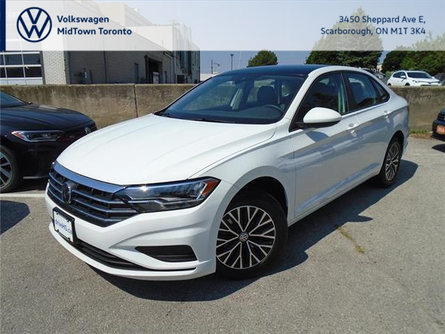 2020 Volkswagen Jetta Highline (Stk: W1723) in Toronto - Image 1 of 22