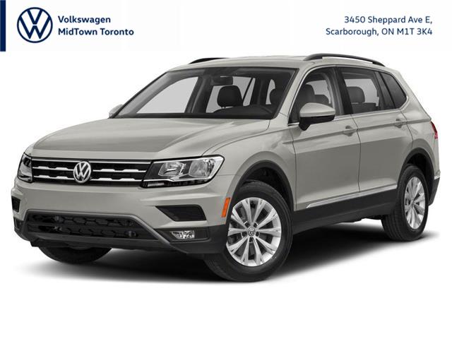 2021 Volkswagen Tiguan Comfortline (Stk: W2092) in Toronto - Image 1 of 12