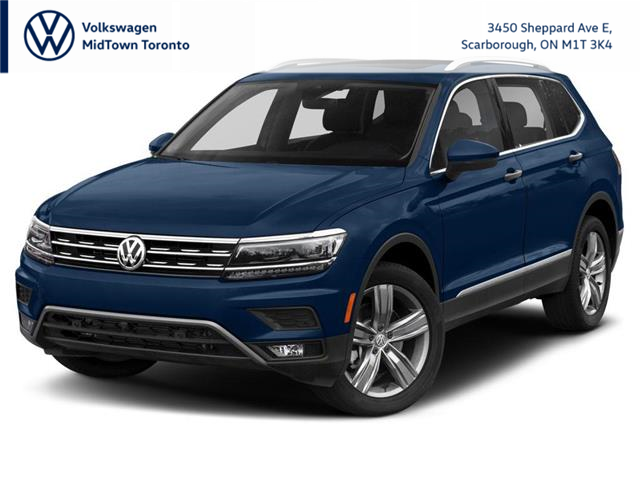 2021 Volkswagen Tiguan United (Stk: W2096) in Toronto - Image 1 of 9