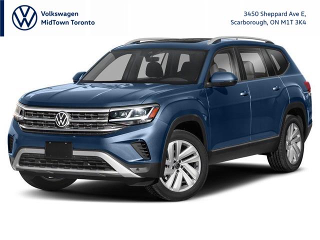 2021 Volkswagen Atlas 3.6 FSI Highline (Stk: W2099) in Toronto - Image 1 of 9