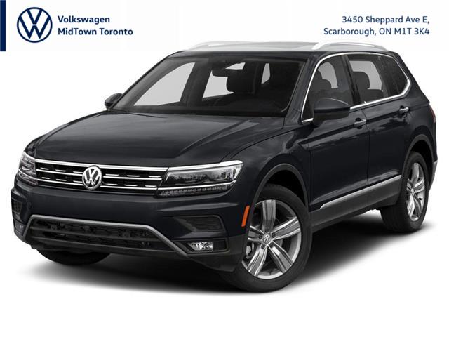 2021 Volkswagen Tiguan Highline (Stk: W2053) in Toronto - Image 1 of 9