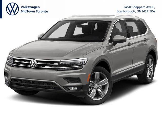 2021 Volkswagen Tiguan Highline (Stk: W2104) in Toronto - Image 1 of 9