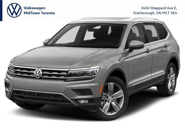 2021 Volkswagen Tiguan Highline (Stk: W2110) in Toronto - Image 1 of 9