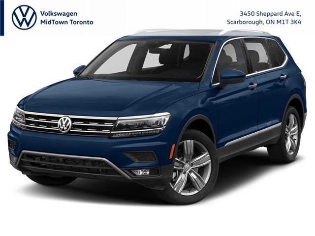 2021 Volkswagen Tiguan Highline (Stk: W2140) in Toronto - Image 1 of 9