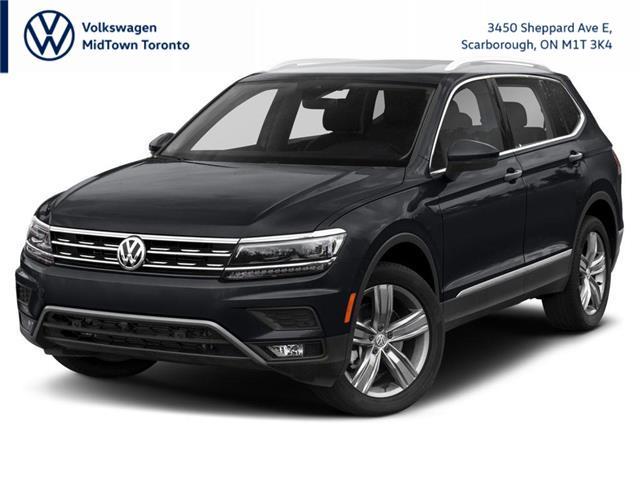 2021 Volkswagen Tiguan Highline (Stk: W2145) in Toronto - Image 1 of 9