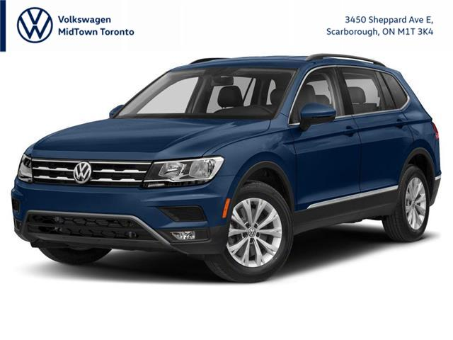 2021 Volkswagen Tiguan Comfortline (Stk: W2177) in Toronto - Image 1 of 9