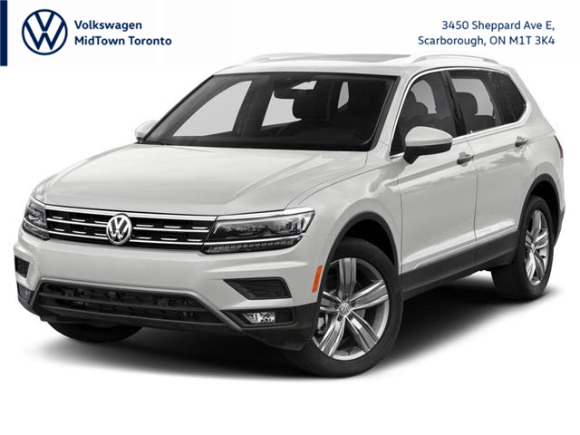 2021 Volkswagen Tiguan Highline (Stk: W2179) in Toronto - Image 1 of 9