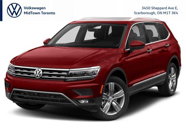 2021 Volkswagen Tiguan Highline (Stk: W2185) in Toronto - Image 1 of 9