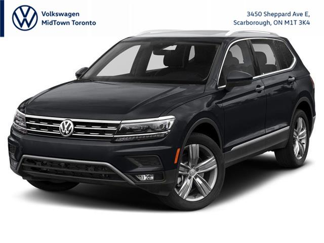 2021 Volkswagen Tiguan Highline (Stk: W2226) in Toronto - Image 1 of 9