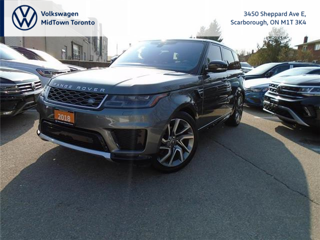 2018 Land Rover Range Rover Sport HSE (Stk: W2263A) in Toronto - Image 1 of 18