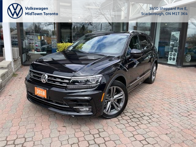 2018 Volkswagen Tiguan Highline (Stk: W2005A) in Toronto - Image 1 of 22