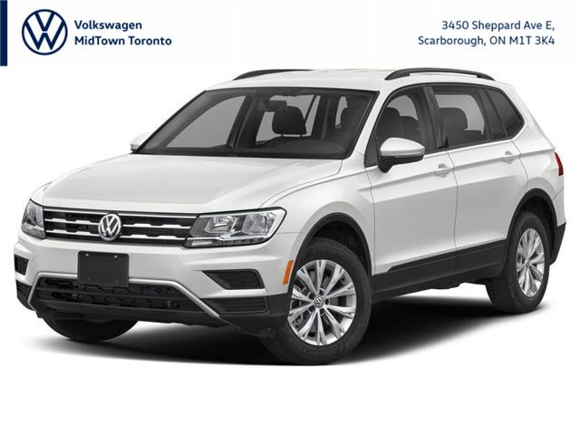 2021 Volkswagen Tiguan Trendline (Stk: W2308) in Toronto - Image 1 of 9
