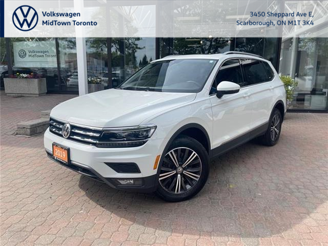 2019 Volkswagen Tiguan Highline (Stk: W2377A) in Toronto - Image 1 of 20