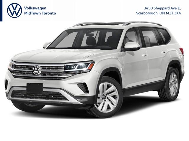 2021 Volkswagen Atlas 3.6 FSI Highline (Stk: W2408) in Toronto - Image 1 of 9