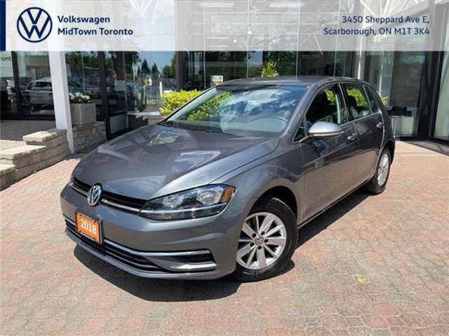 2018 Volkswagen Golf 1.8 TSI Trendline (Stk: W2293A) in Toronto - Image 1 of 18