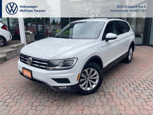 2018 Volkswagen Tiguan Trendline (Stk: W2031A) in Toronto - Image 1 of 16