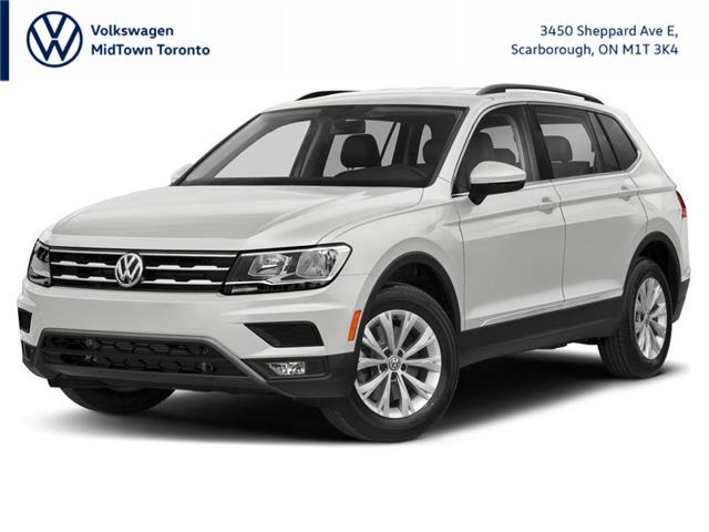 2021 Volkswagen Tiguan Comfortline (Stk: W2462) in Toronto - Image 1 of 9