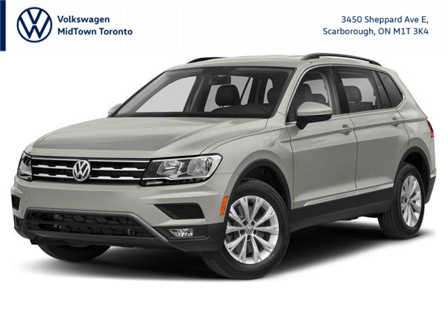2021 Volkswagen Tiguan Comfortline (Stk: W2492) in Toronto - Image 1 of 12
