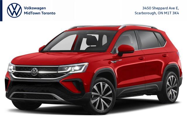 2022 Volkswagen Taos Comfortline (Stk: W2496) in Toronto - Image 1 of 3