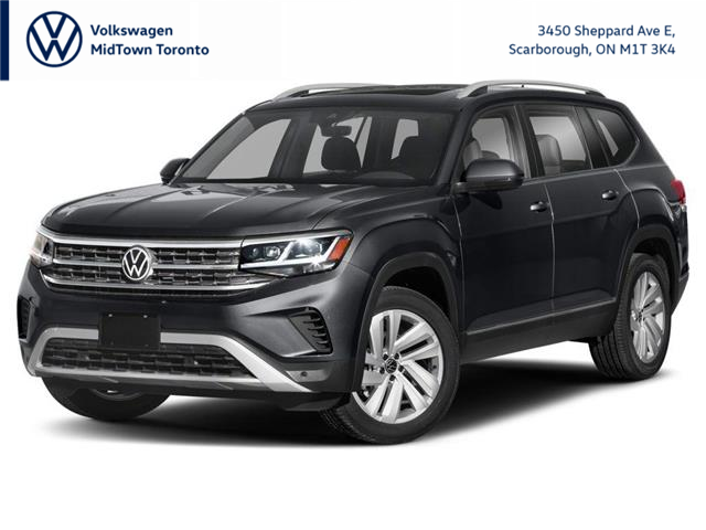 2021 Volkswagen Atlas 3.6 FSI Highline (Stk: W2471) in Toronto - Image 1 of 9