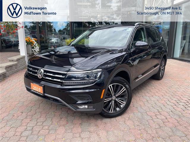 2019 Volkswagen Tiguan Highline (Stk: W2597A) in Toronto - Image 1 of 21