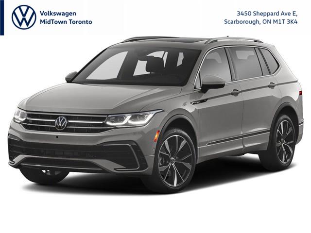 2022 Volkswagen Tiguan Comfortline R-Line Black Edition (Stk: W2794) in Toronto - Image 1 of 3