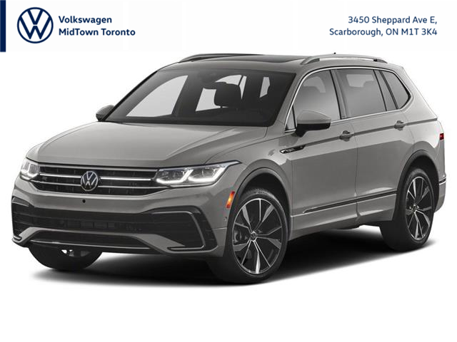2022 Volkswagen Tiguan Comfortline R-Line Black Edition (Stk: W2809) in Toronto - Image 1 of 3