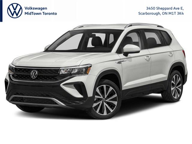 2022 Volkswagen Taos Comfortline (Stk: W2805) in Toronto - Image 1 of 9