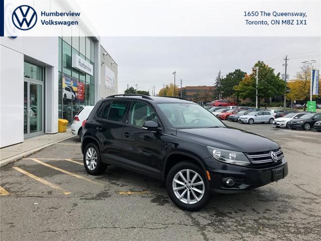 2017 Volkswagen Tiguan Wolfsburg Edition (Stk: 7018T) in Toronto - Image 1 of 20
