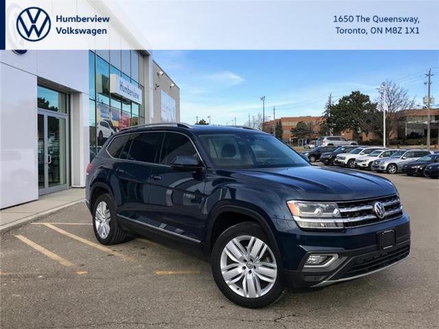 2018 Volkswagen Atlas 3.6 FSI Execline (Stk: 98521A) in Toronto - Image 1 of 21