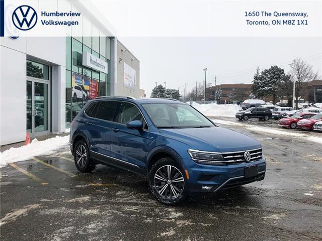 2018 Volkswagen Tiguan Highline (Stk: 59216P) in Toronto - Image 1 of 20