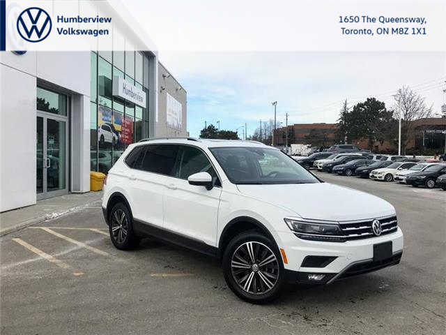 2018 Volkswagen Tiguan Highline (Stk: 8466P) in Toronto - Image 1 of 21