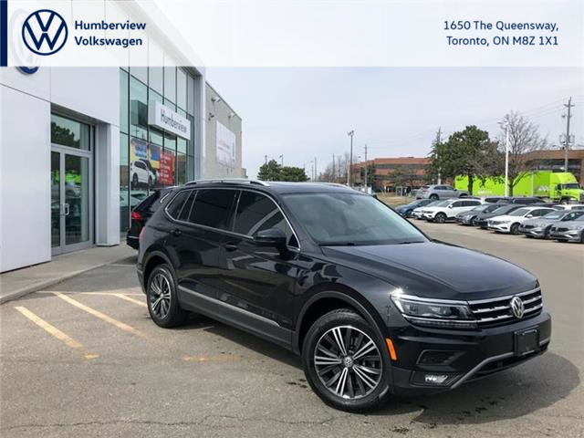 2018 Volkswagen Tiguan Highline (Stk: 98263A) in Toronto - Image 1 of 21