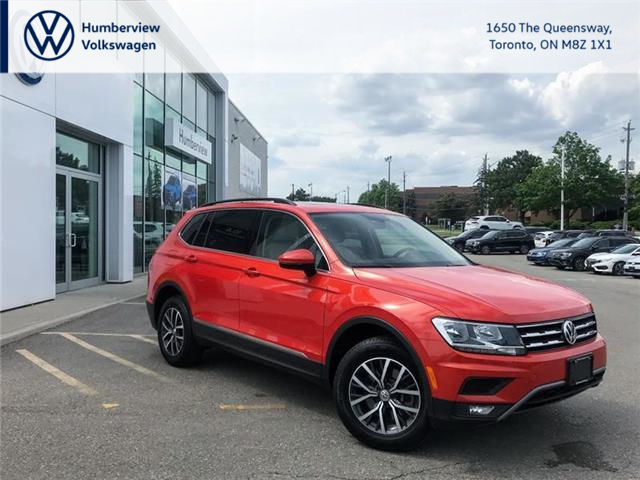 2018 Volkswagen Tiguan Comfortline (Stk: 98574A) in Toronto - Image 1 of 21