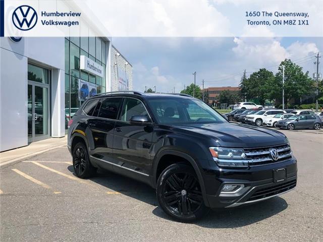 2018 Volkswagen Atlas 3.6 FSI Execline (Stk: 6860P) in Toronto - Image 1 of 5