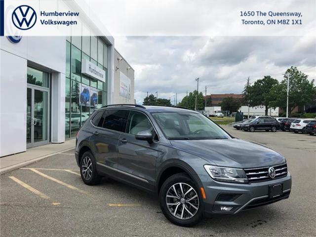 2018 Volkswagen Tiguan Comfortline (Stk: 98324A) in Toronto - Image 1 of 20